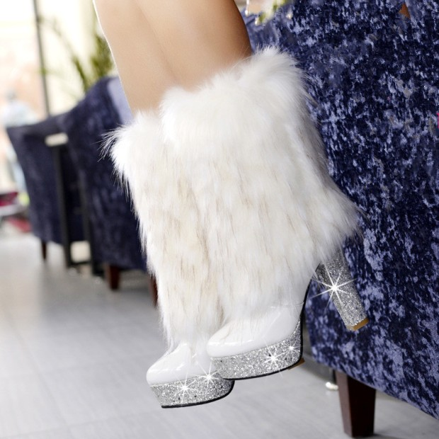 -font-b-White-b-font-Fox-Fur-High-Heels-font-b-Boots-b-font-Female