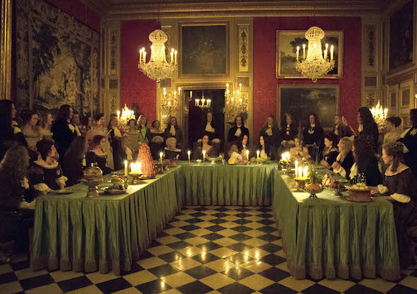 Tournage Versailles